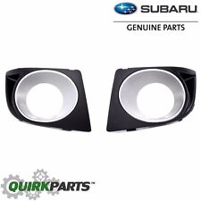 2008-2009 Subaru Legacy Left & Right Hand Side Fog Light Lamp Bezel SET OEM NEW