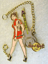 EDINBURGH,Hard Rock Cafe Pin,BONDAGE CHAIN GIRL Seri XXX