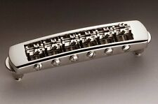 Schaller 451 'Tune-o-matic' style Roller STM Bridge, Nickel 12080100