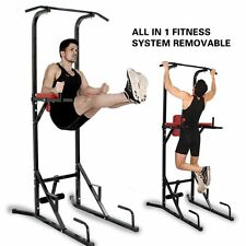 Pro Mulit Home Gyms Fitness Power Tower Dip AB Pull/Chin Up Bar Workout Station