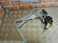 NISSAN NOTE E12 2014 OSF DRIVER SIDE FRONT WINDOW MOTOR & REGULATOR 807301HB2A
