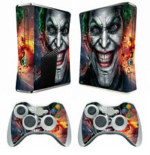 Joker 250 Vinyl Decal Cover Skin Sticker for Xbox360 slim and 2 controller skins