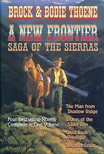 A New Frontier: Saga of the Sierras-ExLibrary