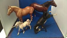 Breyer - Mixed Lot of 4 - Take a Look - Cheap!