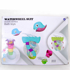 New Dolphin WATERMILL Bath time Toy Toddlers kids 3+