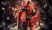 "Deadpool MARVEL Superhero- 42"" x 24"" LARGE WALL POSTER PRINT NEW"
