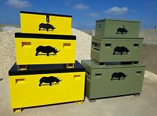 Van Vault, van tool safe, Rhino Vault safe box. Choice of 3 sizes / 2 colours