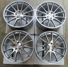 "19"" GROUND FORCE GF6 CONCAVE STAGGERED WHEELS RIMS SET FOR BMW E60 M5"