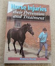 HORSE BOOK equine INJURY Treatment and Prevention HARDBACK