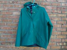 CABELA'S Outerwear GORTEX Green Hooded Rain Jacket Womens L