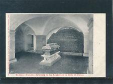 AK Anton Bruckners Sarkophag in den Katakomben im Stift St.Florian   29/7/15