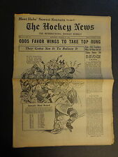 The Hockey News January 5, 1952 Vol.5 No.14 St.Laurent, Dickie Moore Jan '52