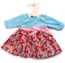 Heless Puppenkleidung, Romantik Kleid Happy, für 28 cm bis 33 cm große Puppen