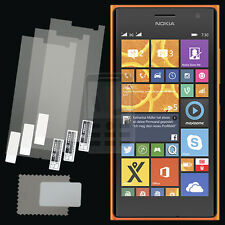 3x CLEAR PET Screen Protector for Nokia Lumia 730 / 730 Dual Sim / 735 LTE 4G