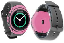 Skinomi Pink Carbon Fiber Skin+Screen Protector for Samsung Gear S2 Watch 42mm