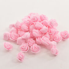 50pcs PE Foam Roses Artificial  Flower Wedding Bride Bouquet Party Decor DIY