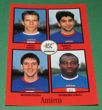 N°306 HAMED PIRES PICKEU AMIENS SC ASC D2 PANINI FOOT 97 FOOTBALL 1996-1997
