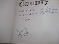 Book. Football. Images of Derby County. Signed Sturridge Harrison Taylor O'Hare