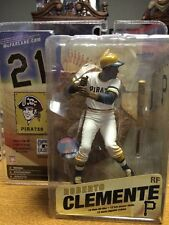 Roberto Clemente McFarlane Cooperstown Baseball Figure White Jersey Mint