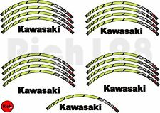 "043 Kit adesivi per ruota 17"" KAWASAKI ZX-10R (moto, sticker, stickers, decal)"