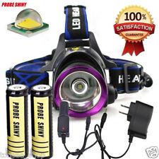 3000Lm CREE XM-L T6 LED Scheinwerfer Taschenlampe Leichte Stirnlampe 18650 Akku
