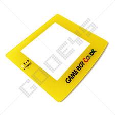 Amarillo Nuevo Nintendo Game Boy Color Gbc plástico cubierta de la pantalla de reemplazo