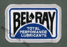 Bel-Ray Bel Ray Lubricants toppa ricamata termoadesivo iron-on patch Aufnäher