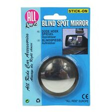 SMALL ROUND BLIND SPOT MIRROR ADHESIVE STICK ON REVERSING DRIVING CAR VAN BIKE