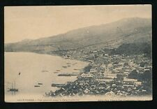 Martinique SAINT PIERRE View before volcanic eruption 1902 PPC used 1914