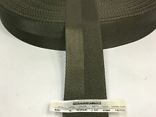 2 1/4 Inch MilSpec Military Webbing MIL-W-4088 T/8C RANGER GREEN - IR TREATED
