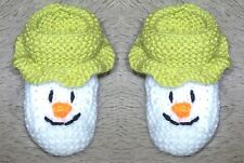 STRICK MUSTER - The Snowman inspiriert füßlinge fit 0 - 3 month old Baby