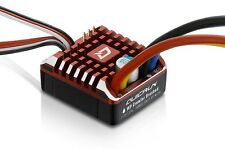 Hobbywing WP Brushed ESC Build-in BEC 2-3S Lipo With LED Programing Card F19396