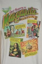 CARIBBEAN SOUL GREAT MOMENTS IN MARGARITA HISTORY DRINK SCREENED T-SHIRT LARGE
