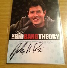 "The Big Bang Theory S3&4 - A10 John Ross Bowie ""Barry Kripke"" Auto / Autograph"