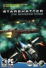 STARSHATTER: The Gathering Storm PC Game COMPLETE BOXED 8 / 7 / Vista / XP