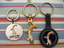 PORTE - CLES / LOT DE 3 / EXPO 92 SEVILLA