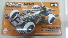 Tamiya 1/32 mini 4WD Max Breaker CX09 Black Special Battery Car Kit #95294