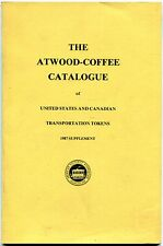 1987 Atwood-Coffee Catalogue Supplement - Softcover 55 pages