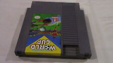 WORLD CUP SOCCER Nintendo Nes Game Cart - Tested