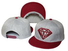 New Fashion Diamond SUPPLY CO Snapback style Baseball Hip-Hop Cool HAT/CAP Gray