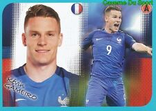 P16 KEVIN GAMEIRO POSTER EQUIPE TEAM FRANCE STICKER FOOT 2017 PANINI