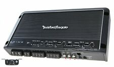 ROCKFORD FOSGATE R600X5 +2YR WARNTY 600W 5 CHANNEL CLASS AB CAR AMP AMPLIFIER