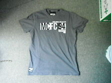 Manchester City Large Mens Grey Football T Shirt