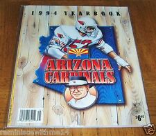 1994 ARIZONA CARDINALS YEARBOOK  - RARE FIND - GREAT INFO & PHOTOS - LOOKS NEW