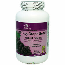 OPC-15 Grape Seed Extract 100 mg, 300 Tabs, Anti-oxident, Made In USA, FREE SHIP