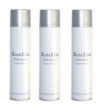 ❀❀❀❀ Baseline Hairspray Superstrong 3x 600ml ❀❀❀❀