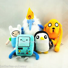 Lot 5 pcs Adventure Time with Finn and Jake Beemo Gunter stuffed plush toy doll