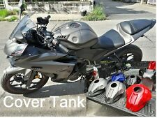 Yamaha Yzf R25 R3 Cover Tank Style R1 Bigbike Bigger Race Accessories Oil Parts