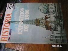 2µ?. Revue Historia Magazine n°97 Revolte des Boxer Ere Atomique Expo 1900 Paris