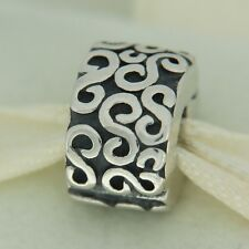 Authentic Pandora 790338 S Clip Sterling Silver Bead Charm